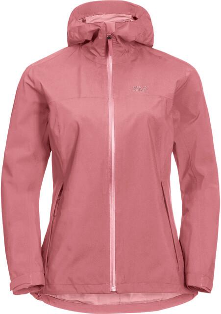 Womens Riverland Hooded Jacket Rose Quartz